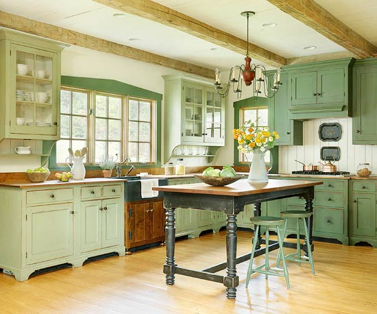 Spring cleaning for your life activity and meditation snerious press beautiful green kitchens 4 malvernweather Choice Image